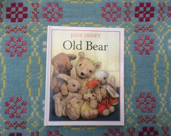 Old Bear - Picture Book by Jane Hissey - 1980s Children's Book