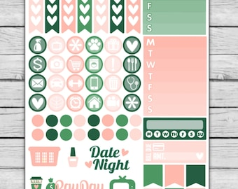 Palm Beach Functional Planner Stickers