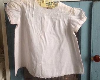 Vintage pink baby girl dress/ vintage dresses/ vintage baby clotes