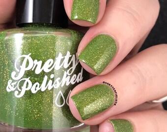 If Hyruled the World Glitter Nail Polish