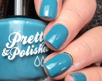 Docked in Biscay Bay Creme Nail Polish