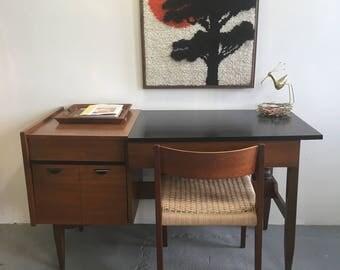 sleek mid century modern desk by hooker furniture
