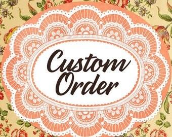 Payment Listing for Allyson  -  Custom Gold Glitter Wedding Invitation