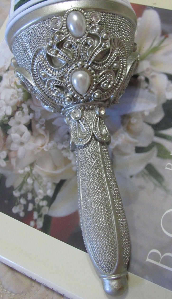Bridal Bouquets Holders, Diy Bride Bouquet Handle, Bride Making Her Own Bridal Bouquet -3163