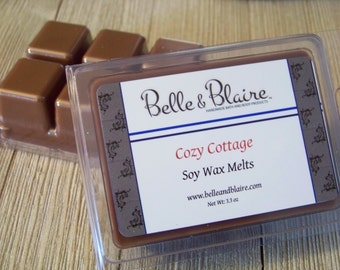 Cozy Cottage- Soy Tarts- Scented Wax Melts