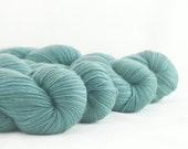 Hand Dyed Merino / Nylon Sock Yarn Sage Green
