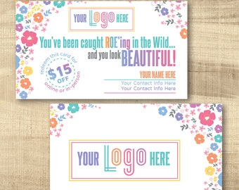You've Been Caught Roeing Cards, LLR Roe-ing Cards, Home Office Approved fonts, HO approved colors, LuLa Marketing Roe, LLR Marketing
