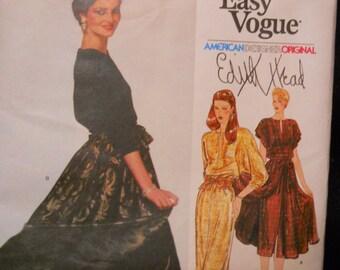 Edith Head, American Designer Original, Vogue 2221, Very Easy Vogue, Size 16