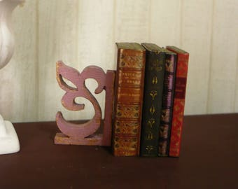 group of old books 1:6 scale for Blythe or Pullip