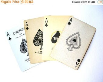 10 Random Ace of Spades Cards - Playing Cards - Aces - Swap Cards