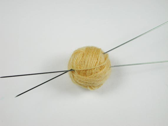 1 pair 12 cm needle for the miniature hand work