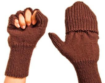 Snow Mittens Winter Mittens Red Mittens Mittens Wool Mittens Merino Gloves Winter Gloves Warm Mitts Active