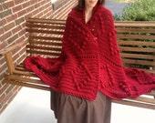 Crocheted Afghan - Crochet Afghan - Warm Blanket - Couch Blanket - Blanket - Crochet Blanket - Crocheted Blanket - Soft Blanket