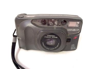 Minolta Freedom Family Zoom 35mm Film Camera