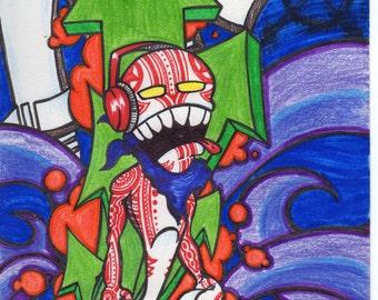 Paint Genie - Graffiti PRINT