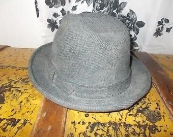 PENDLETON Men Vintage Hat, Wool Men Hat,  Vintage Men Hat, Vintage Hat, Dress up, Made in USA, Use for Movie Prop or Prop :)s*