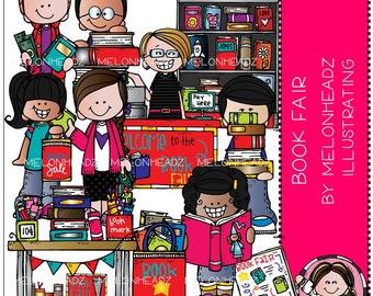 Book Fair clip art - Combo Pack