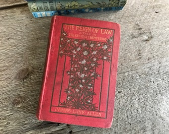 1900 The Kentucky Hemp Fields, The Reign of Law, Hardcover Book