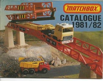 Vintage 1981/82 Matchbox Cars Catalog