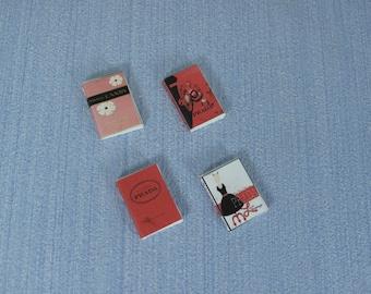 NEW Gaël Miniature decorative Coffee Table Books  tilda  fashion and home decor   1:12 Scale Or 1/6 Scale   Dollhouse Miniature magazine