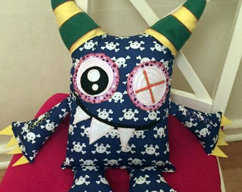 OAK Personlised Silly Little Monster Plush Doll