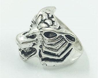 Gothic ring, tiger
