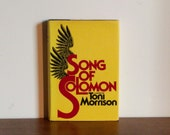Song of Solomon Signed by Toni Morrison