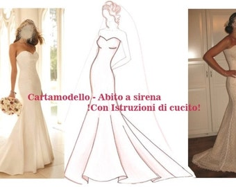 Bridal dress Pattern, Size 10