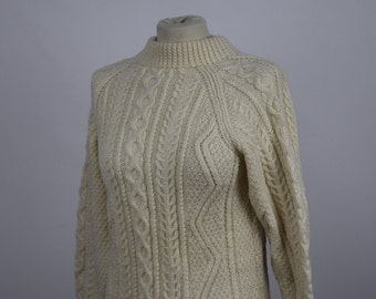 Knitted Aran Jumper (DOWN FROM 24.99)