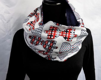 CLEARANCE SALE! Blake Novelty Reversible Infinity Scarf