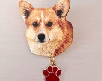 Cute Dog Brooch