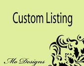 Custom Listing For Bruner 25