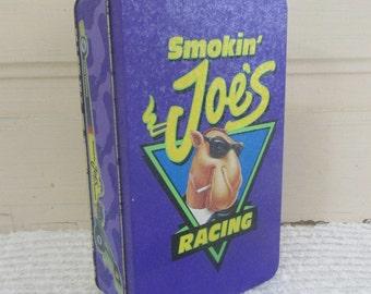 Smokin' Joe's Racing Tin with Matchbooks 1994