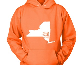 """Custom State or Country Hoodie, """"roots sown & home grown"""", State Pride Hooded Sweatshirt, Unisex, Graduation Gift Idea, S-5XL, 12 Colors"""