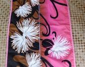 Custom short garment bag for pa'u, blouse