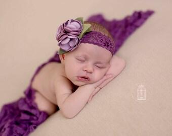 Bree  - Purple Ombre Headband