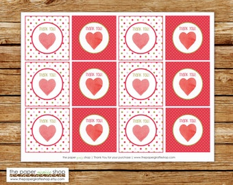 Our Little Sweetheart Favor Tags | Our Little Sweetheart Party | Valentines Birthday Party Favor Tags | Sweetheart Birthday