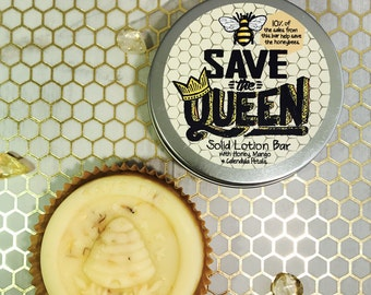 Save The Queen Solid Lotion Bar