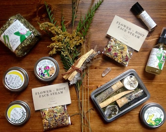 Monthly Herbal Share, Herbal CSA, Monthly herbal subscription box, Gift ideas, Delve into self care
