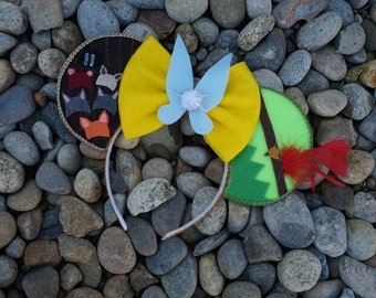 Disney's Peter Pan Inspired Minnie Mouse Ears