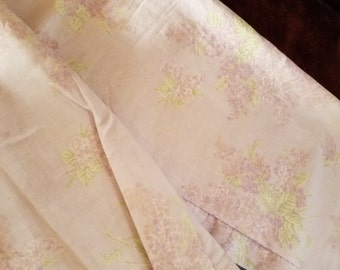 Sweet Retired Shabby Chic Cottage Lavender Curtain Panels