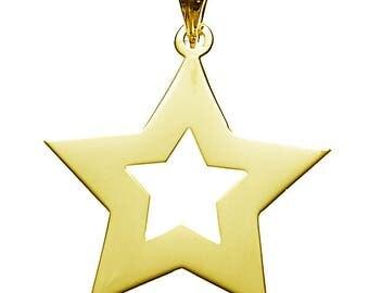 Star Charm Pendant Necklace