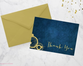 Space and Time Thank You Card