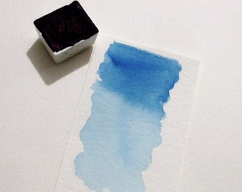Prussian Blue - Handmade Watercolor Paint