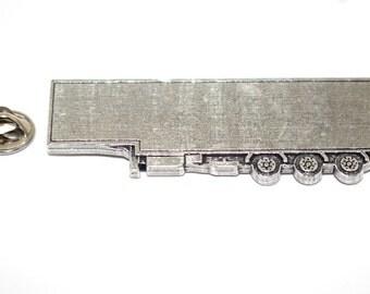 Semi Truck Trailer ~ Lapel Pin/Brooch ~ A238