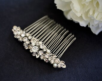 Dazzling Rhinestones hair comb -  crystal hair comb - wedding headpiece - Bridedsmaids- Made to order
