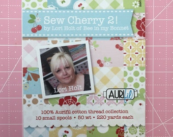 Sew Cherry 2 Aurifil Collection