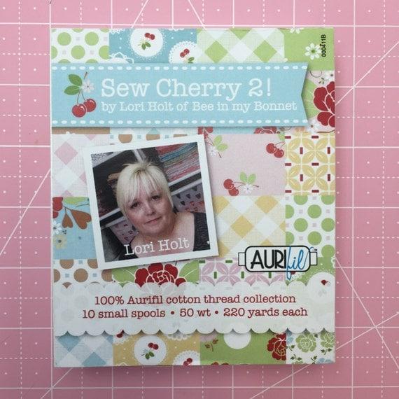 Sew Cherry 2 Aurifil Collection