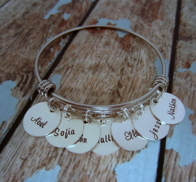 grandmother bracelet charm bracelet for personalized