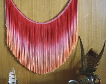Cabin Home Decor - Woodstock Fringe Hanging, Wall Hanging
